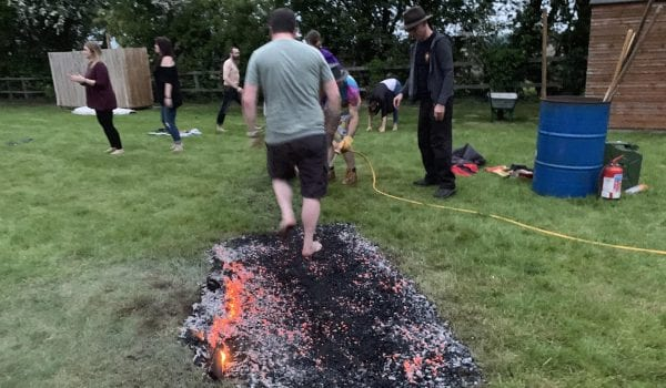 Fire walking - UK Hypnosis Academy