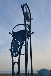 lancing beach green, public art, community feel design
