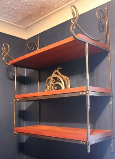 Forged, Blacksmith, Shelving, Home, Interior Design, Swann Forge