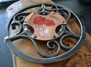 Trivet, Kitchen, Bespoke, Luxury, Poppy, Copper, Interior Design
