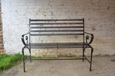 Bee, Bench, Honey Bees, Outdoor Seating, Swann Forge, Wrought Iron
